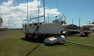28 foot custom centreboard yacht, masthead sloop. Bargara Bundaberg City Preview