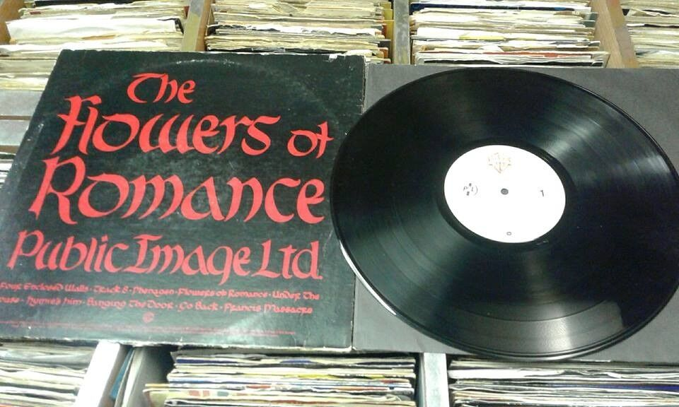 Public Image Ltd – The Flowers Of Romance, G, released on Warner Bros. Records in 1981, Post Punk