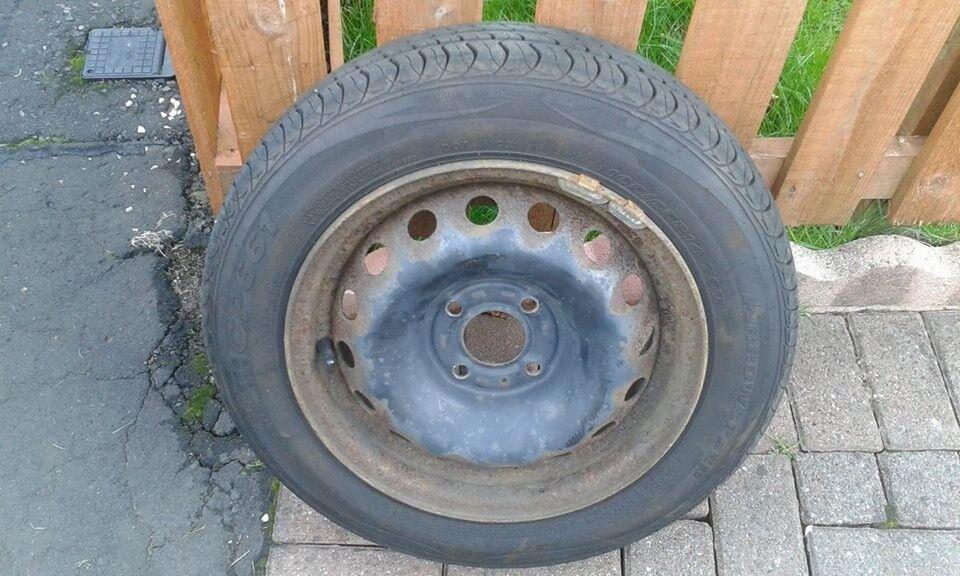 14 inch Renault Clio Wheel & Tyre