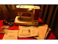 Toyota Quiltmaster Sewing Machine (Used Twice)