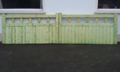 Wooden heavy duty gates - made to measure