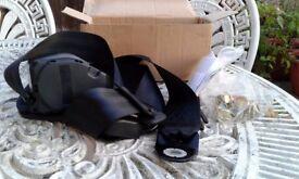 Black seatbelt automatic tensioner - brand new!