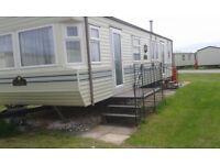 6berth 3bedroom double glazed caravan