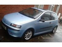 2001 Blue Fiat Punto Sporting 1.2 16v 6 Speed, electric sunroof, bodykit, factory upgraded stereo.