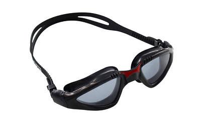 dadfe073bcc CRG Black UV Protection Anti Fog Adult Adjustable Swimming Swim Goggles  890BR