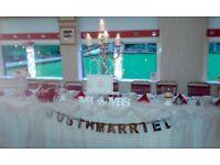 Wedding candelabra's