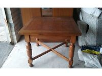Solid Wood extending dining table.