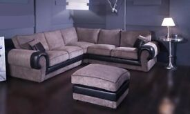 Brand New Fabric Spring Corner Sofa On Sale