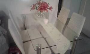 Glass Dining Table Mosman Mosman Area Preview