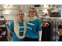 Our friendly team at Sue Ryder, Devizes is looking for volunteers to join us!