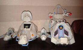 Captain Simian and The Space Monkeys 1995 Bluebird Toys rare collectable bundle