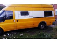 (52) JUMBO TRANSIT CAMPER PROJECT SOLID UNDER CARRIAGE £800
