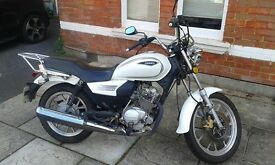 Sinnis SC 125 Low Milage only 2 years old