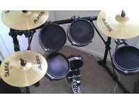 Alesis DM5 pro kit with Surge Cymbals - read Description