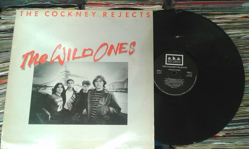 The Cockney Rejects ‎– The Wild Ones, VG, released on A.K.A. Records ‎in 1982, Punk Oi