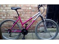 Universal fusion ladies mountain bike very good condition