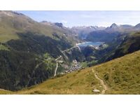 Web designer, French Alps, Summer. Excellent base for mountain biking & activities!