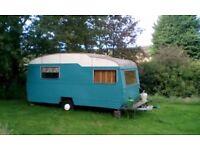 Classic / Retro / Vintage 1963 Sprite Musketeer Caravan Project