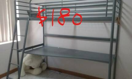 one loft bunk and other bunk beds--- 8 set for sale/Fridges