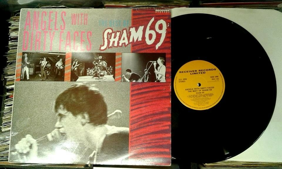 Sham 69 – Angels With Dirty Faces - The Best Of Sham 69, VG, Compilation released in 1986, Punk Oi
