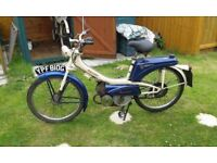 Raleigh runabout moped 1969