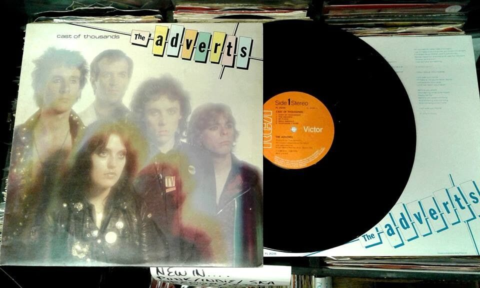 The Adverts – Cast Of Thousands, VG, released on RCA Victor in 1979, 70s Punk Vinyl LP