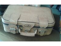 Vintage Crown suitcase