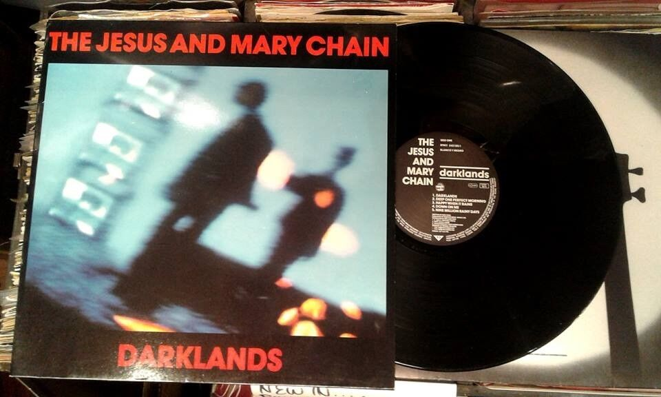 Jesus And Mary Chain ‎– Darklands, VG, original pressing not a reissue released ‎in 1987 Alternative