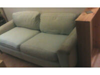2 matching sofas free to collect