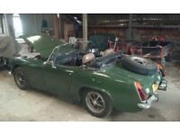 MG Midget 1971, Tax Exempt, 12 Months MOT (No Advisories)