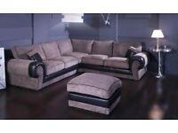 Brand New OUST Fabric Corner Sofa On Sale