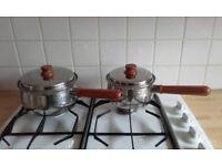 Prestige Copper Bottom Lifetime Saucepans