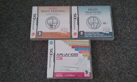 Nintendo DS Games. All 3 for £5. Collection from Eyres Monsell.