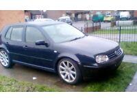W REG VW MK4 GOLF GTI 1.8 TURBO 150BHP £450.00 TODAY ONLY