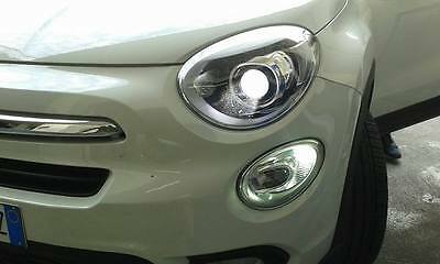 Lampadina Luci Diurne Fiat 500 : Coppia led diurne posizioni fiat posizioni ba s canbus