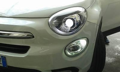 COPPIA LED DIURNE POSIZIONI FIAT 500X POSIZIONI BA15S CANBUS 1156 P21/5W 12V 21W