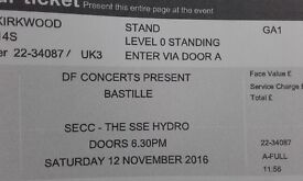Bastille Glasgow 12th Nov Standing Ticket £35