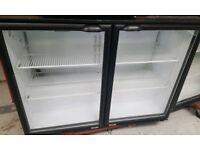 Display can fridge 2 door