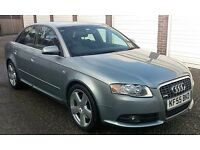 2004 Audi A4 2.0 TFSI S Line MANUAL 4dr SALOON 1 OWNER F.A.S.H (t-z awesome-cars)