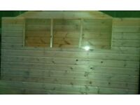 Garden Shed 8x6 foot*Tongue and Groove*6 months old*Excellent Condition*Dismantled*