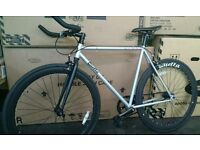New Quella Kings Cambridge Design Fixie Single Speed Road Bike GUARANTEED CHEAPEST PRICE