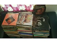 300 MOSTLY WESTERN/COUNTRY VINYL RECORDS JOB LOT