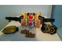 Power rangers interactive play belt