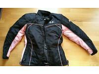 Textile Female Motocycle Jacket, Trousers,Helmet