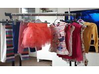 Toddler girls 2-3yr summer clothing bundle