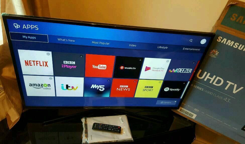 Samsung 43 Inch 4k Ultra Hd Smart Tv