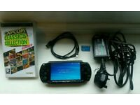 Sony PSP CONSOLE with games!!