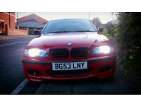BMW 320D ///M SPORT E46 IMOLA RED 150BHP 53 PLATE LOOKS AND DRIVES GREAT