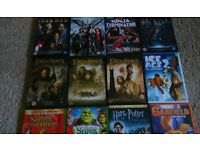 12 fantasy (children's)dvds