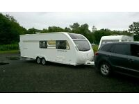6 Berth twin axle caravan